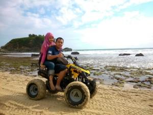 ATV Pantai Klayar
