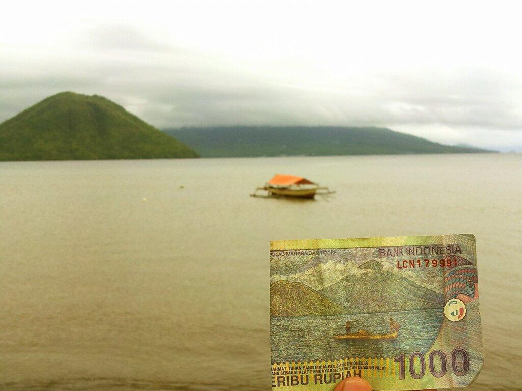 Uang Seribu, Maitara dan Tidore