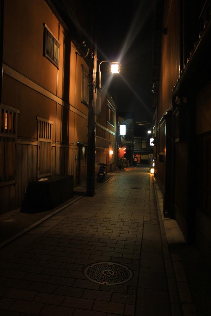 salah satu sudut gang di Gion, jadi inget Samurai X