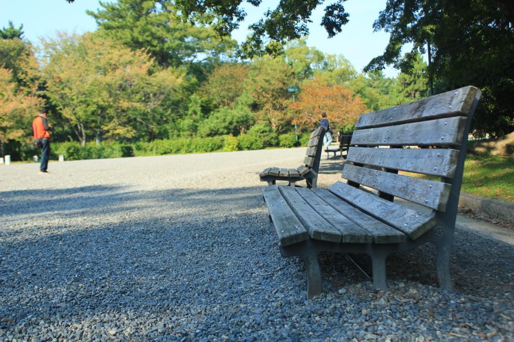 Taman di Kyoto Imperial Park (Yap, potonya ini doank :D)