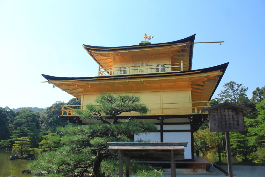 Golden Pavilion dari dekat