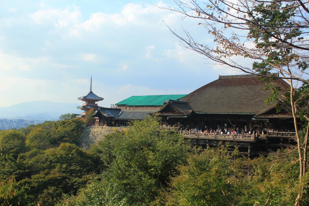 Sisi lain Kiyomizu-dera