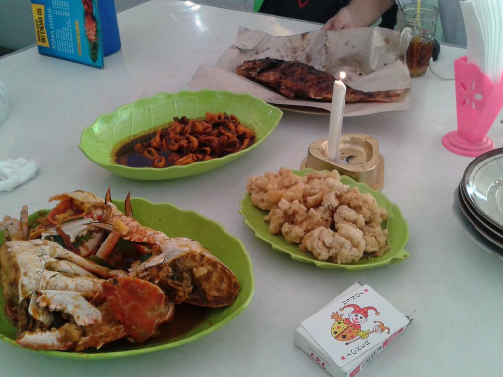 Hidangan Seafood Pantai Baron