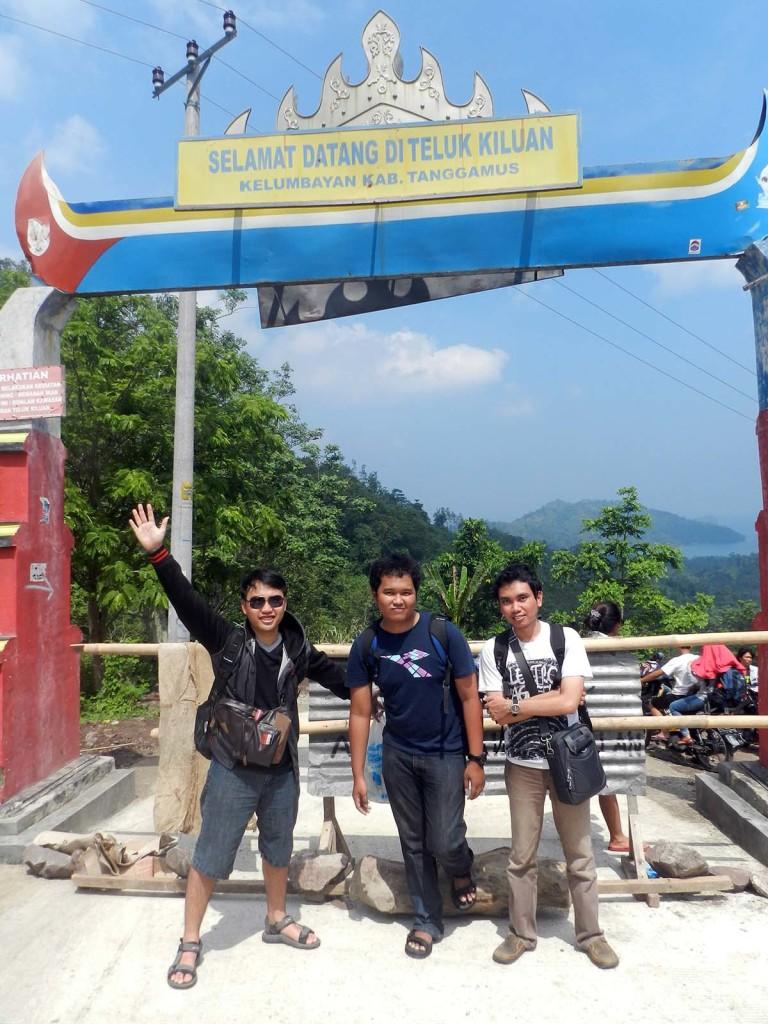 Gerbang Teluk Kiluan