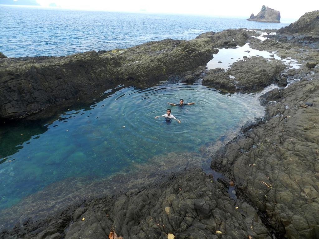 Laguna dodo kiluan bay