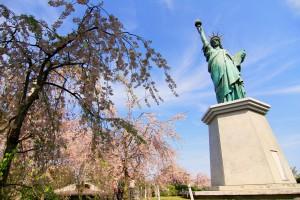 Belom bisa sampai ke Newy York, yang penting ngliat replika Libertynya dulu heehhe