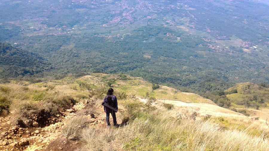 menerawang di atas bukit