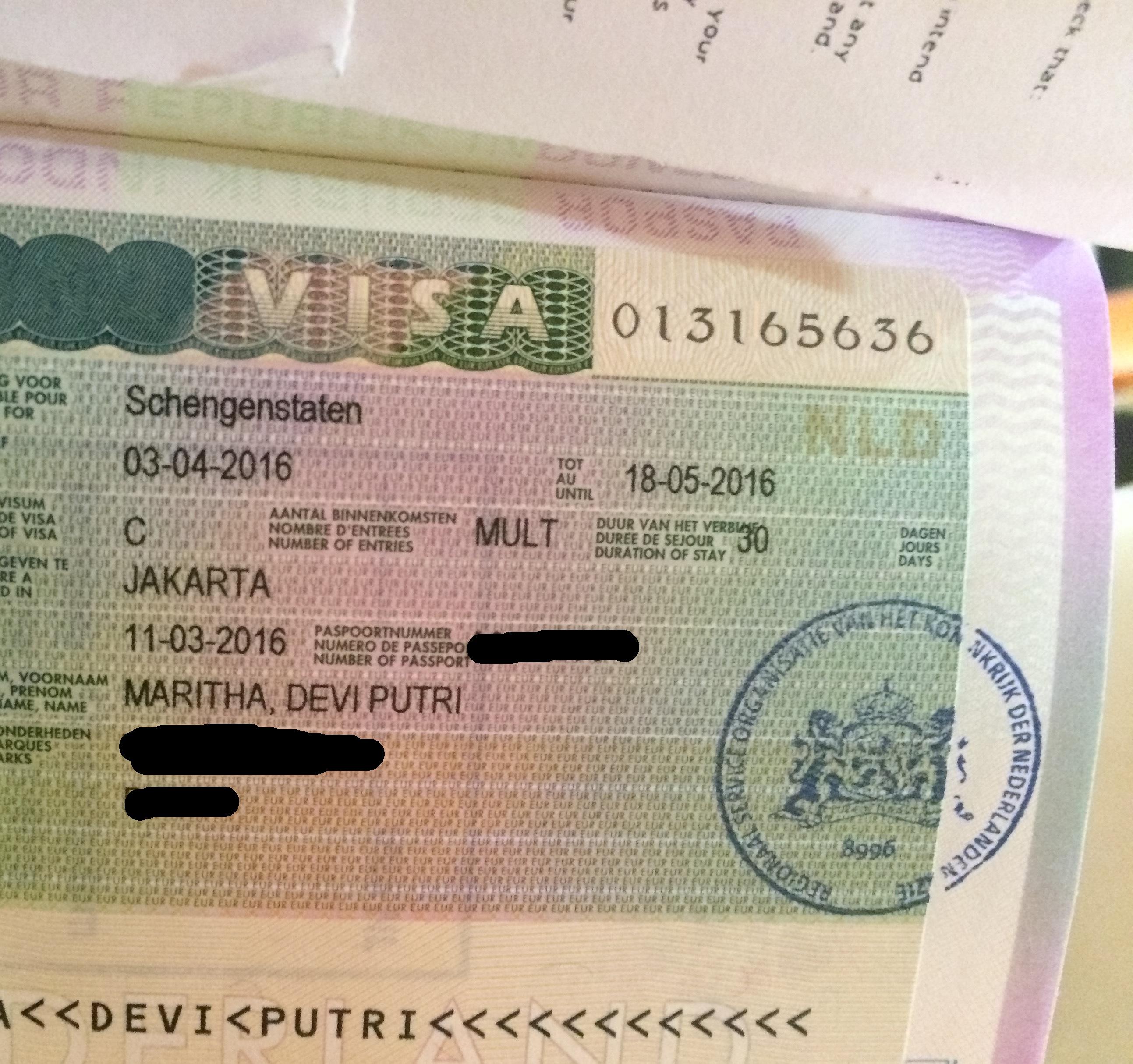 Mengurus Visa Schengen Via Kedutaan Belanda